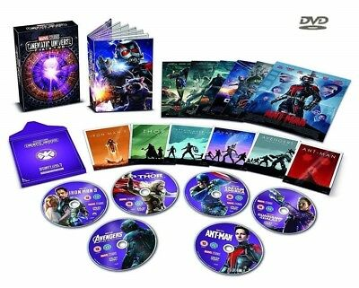 MARVEL STUDIOS COLLECTOR'S EDITION BOX SET PHASE 2 : 6 Movies NEW R2 DVD not US