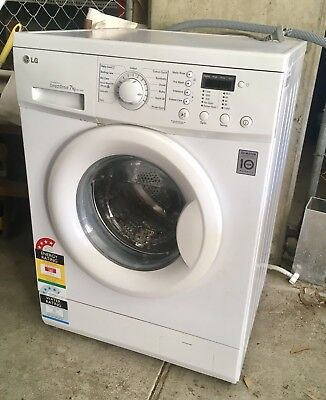 LG WD1120D Front Load 7kg Direct Drive Washing Machine