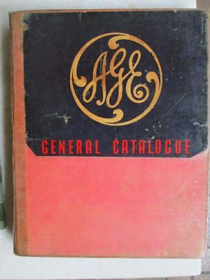 "Age.""australian General Electric General Catalogue"" 1950`s. Large."