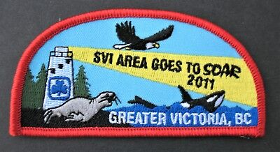 Girl Guides Canada  Soar 2011 Greater Victoria B.c. Badge Patch Svi Area Island
