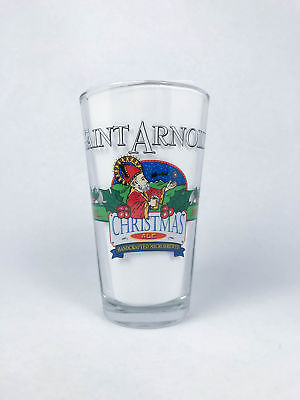 Saint Arnold Brewing Company Christmas Ale Pint Glass