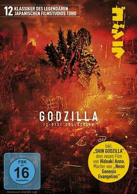 Godzilla - 12-Disc Collection Limited Edition  [12 DVDs]