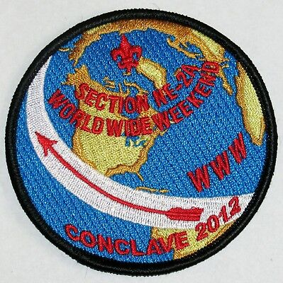 Section W-5S 2012 Conclave Pocket Patch  OA  BSA