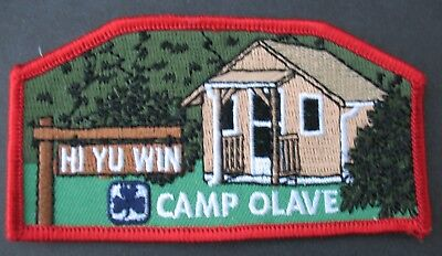 Girl Guides Canada  Camp Olave Hi Yu Win Patch Brownies British Columbia Sparks