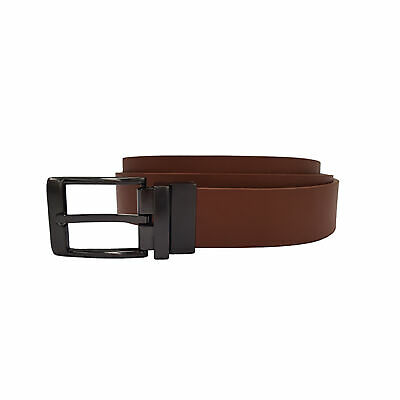 Laramy Boys Reversible Leather Waist Belt Kids - Tan/Black Party Formal Casual