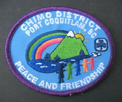 Girl Guides Canada  Chimo Port Coquitlam B.c. Embroidered Patch Brownies Scouts