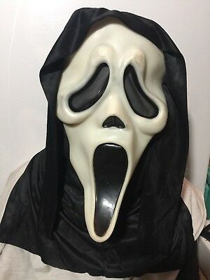 Vintage Fearsome Faces Easter Unlimited Scream II Ghost face mask Fun Fantastic