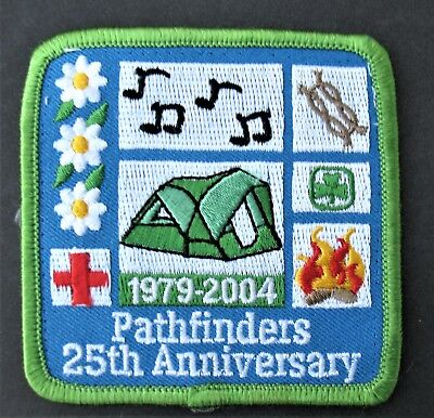 Girl Guides Canada  Pathfinders 25Th Anniversary 2004 Embroidered Patch Scouts