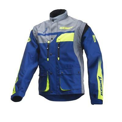 KENNY Track Enduro Jacke 2019 navy lime Motocross Enduro MX Cross