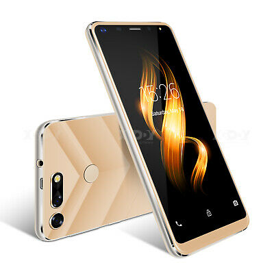 "Cheap Android 7.0 Unlocked Mobile Phones Quad Core Dual SIM 5.0"" 5MP Smartphone"