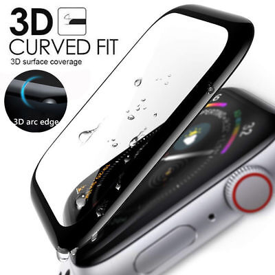 Apple Watch Series 38/40/42/42mm 3D Full Cover Tempered Glass Screen Protector