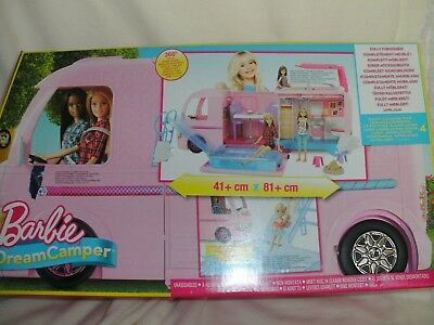 Barbie Super Abenteuer Camper FBR34 Mattel Dream- Camper in OVP