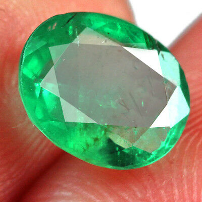 1.4Ct Grade Green Emerald 100% Natural Collection Retail Price $1000 UQMD168