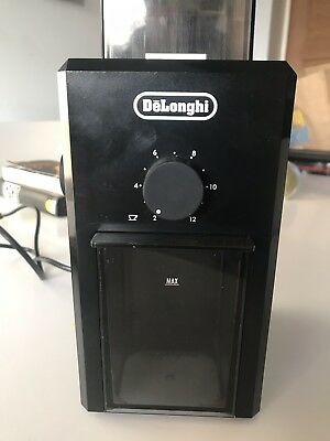 Delonghi KG89 Stainless Steel Burr Coffee Grinder