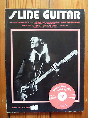 Slide Guitar A Book / Record Guide To Electric Lead DEMO RECORD INCLUDED