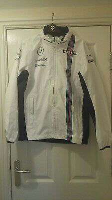williams martini racing jacket new