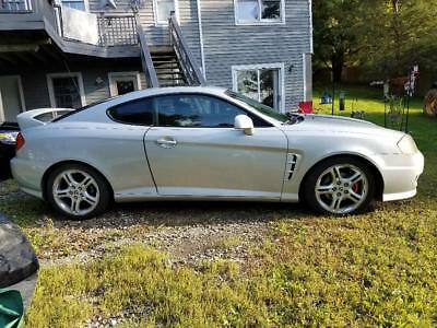 2006 Hyundai Tiburon SE HYNDAI TRIBURON 6 SPEED MANUAL 6 CYL ENGINE NO RESERVE