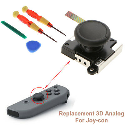 Replacement 3D Analog Sensor Module For Nintendo Switch NS Joy-Con Controller UK