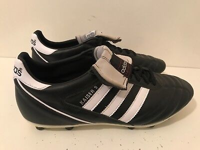 quality design 1212e f4ee3 adidas Kaiser Liga FG Mens Football Boots Black Size UK 9.5 (EU 44)