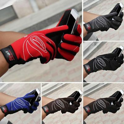 UK Mens Womens Full Finger Gloves Waterproof Thermal Warm Touch Screen Gloves