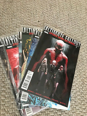 Ultimate Fallout: Spider-Man No More # 1-6 komplette Miniserie