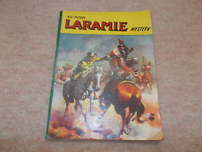 All Picture Laramie Western Comic Published Alexander Moring, UK 1960's ?