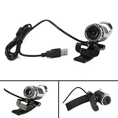 USB 12 Megapixel HD Camera WebCam 360° with MIC Clip-on for Computer Laptop PC