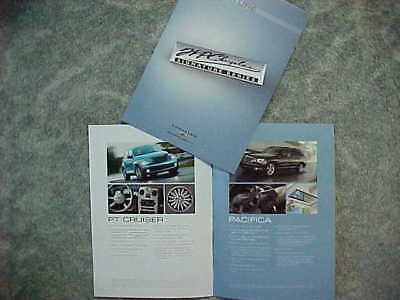 2008 Chrysler 300 PT Cruiser Aspen Sebring Pacifica Signature Series Catalog