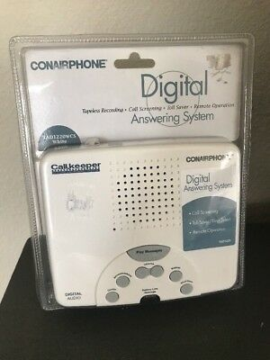 CONAIRPHONE Digital Answering System TAD1220WCS White NEW