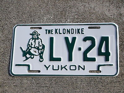 Canada Yukon License Plate #  LY - 24