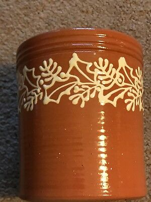 Signed Greenfield Village Michigan Redware Red Ware Artist Ryan Forrey Pottery
