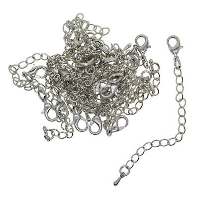 20x Extension Link Chain Tail Extender with Lobster Clasp Jewelry Findings