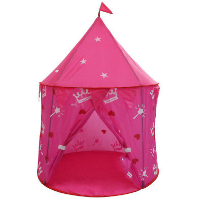 100x135cm Folding Pop Up Playhouse Tent Ball Pit Child Playground Toy Red