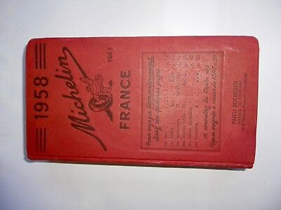 Guide Michelin 1958