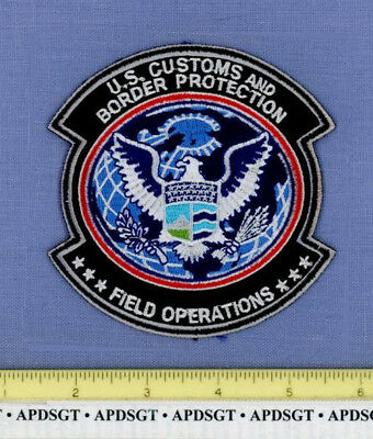 USCS FIELD OPERATIONS WASHINGTON DC Sheriff Federal Police Patch CUSTOMS