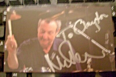 Nick Mason-Pink Floyd Drummer-Autographed Signed Pic-