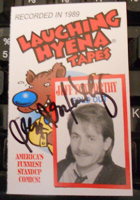 Jeff Foxworthy-Comic/Actor-Autographed Signed Tape Cover