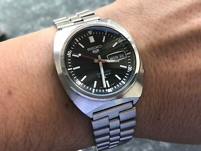 SEIKO 5 Sport 6119-6023 rotating bezel Automatic Day Date Funktion diver defect