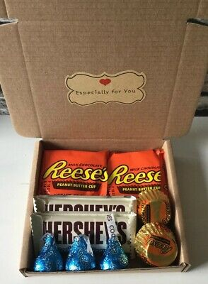 Petite Reese's / Hershey's Chocolate Gift Box - Birthday - Thank You - Easter