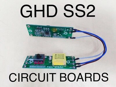 Genuine Ghd Pcbs Circuit Boards For Ss2 Wide Plate Models. Tested Fully Working.
