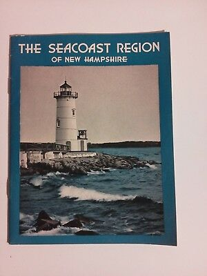 Old Brochure pamphlet  of The Sea Coast Region of New Hampshire