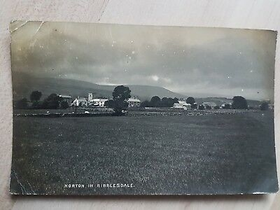 1900s Horton in Ribblesdale - 1914 - North Yorkshire - Real Photo Postcard