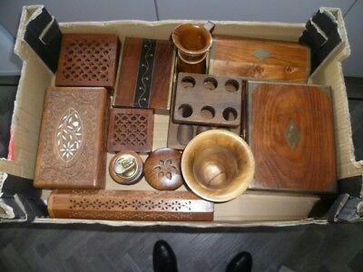Selection Of Treen Items (12)