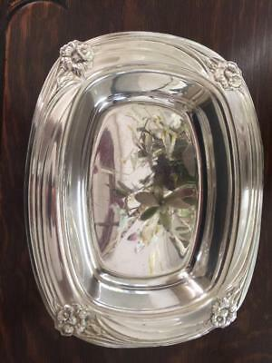 Vintage Daffodil1847 Rogers Bros Silverplate  Serving Dish Bowl