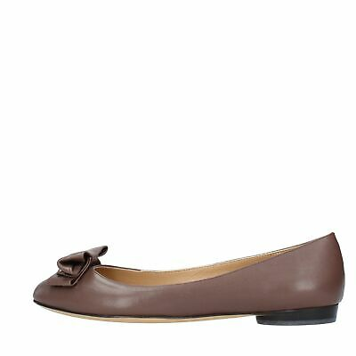 huge selection of 4821a 85b8b KV1346 SCARPE BALLERINE SALVATORE FERRAGAMO donna Marrone