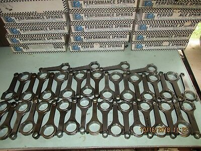Lot Of 42 Forged H Beam Rods Molnar K1 Manley Connecting Rod Rods