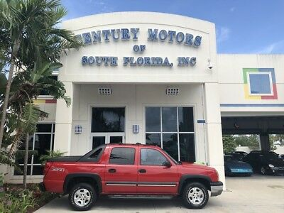 2003 Chevrolet Avalanche  BOSE Stereo Homelink Memory Setting Running Boards