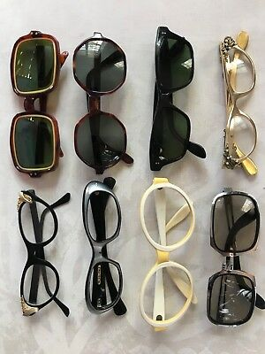 Tura sunglasses Cateye B&L frames vtg RayBan Ketch France Italy lot Collection