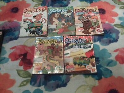 Scooby-Doo Cartoon Network Softcover 5 Book Lot