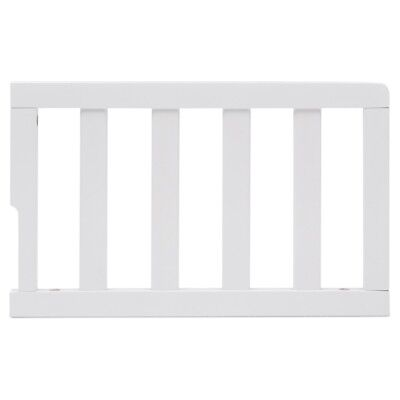Delta Children Toddler Bed Guardrail Kit, Model No. 0081-130 Bianca White